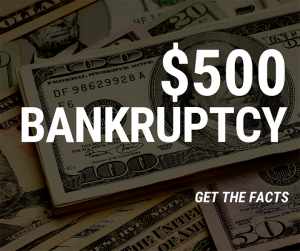 $500 Bankruptcy